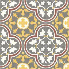 Cement Tile - Patterns  floor tiles