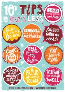 You lead better when you're less stressed.