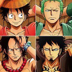 Die 4 heißesten Männer aus One Piece