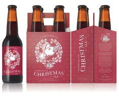 Cerveja Goose Island Christmas Ale, estilo American Brown Ale, produzida por Goose Island Brewery, Estados Unidos. 7.5% ABV de álcool.
