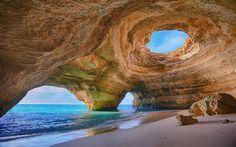 Cave Beach in Algarve, Portugal 2