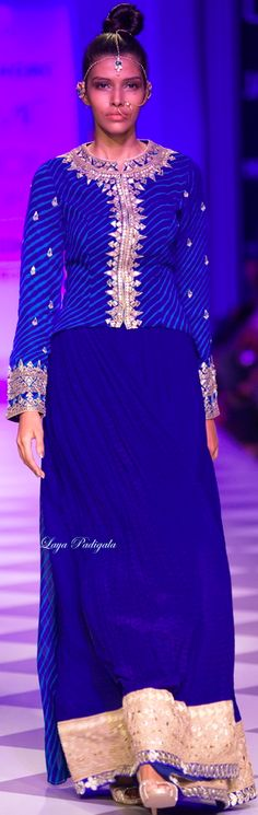 Anita Dongre Fall/Winter 2014-15 Lakme Fashion Week ❋Laya Padigala