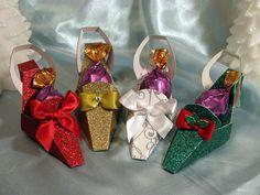 Christmas High Heel Party Shoe