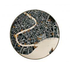 staceythinx: Plate maps by Seletti. I want to... | Lustik