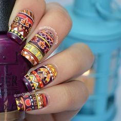 thanksgiving by andreitus_nails #nail #nails #nailart