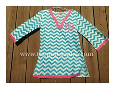Clemson Girl - Win this monogrammed chevron tunic from the Pink Azalea boutique. Click the photo to visit Clemson Girl and enter the giveaway.
