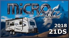2018 Forest River Flagstaff Micro Lite 21DS Travel Trailer For Sale Tradewinds RV Center Shop 2018 Flagstaff Micro Lite 21DS and check out our huge online selection now at http://ift.tt/2sspAo5 or call TradeWinds RV at 810-547-5965!   The 2018 Flagstaff Micro Lite 21DS travel trailer is the perfect RV for first-time owners!   This RV is constructed with a fully aluminum frame laminated fiberglass sidewalls and decorative frame skirting. It is equipped with two 30-pound LP bottles with a…