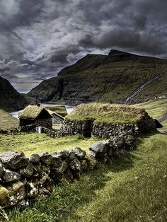 Saksun - Faroe Islands Scotland 2008 by Jón Sand Davidsen, #Celtic #MedievalHomes
