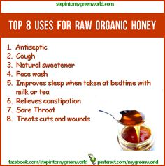 .8 Uses for Raw Organic Honey