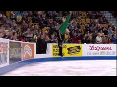 The cutest figure skating routine I've ever seen!! He will make your day