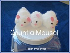 Count a mouse story telling props and game – Teach Preschool
