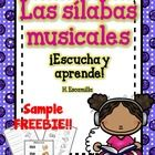 This syllables program is designed to increase your students' fluency in syllable recognition, reading, and writing. ***In this sample-FREEBIE, y...
