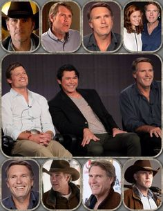 """Hottest guys on TV for us """"older"""" viewers!!! #longlivelongmire"""