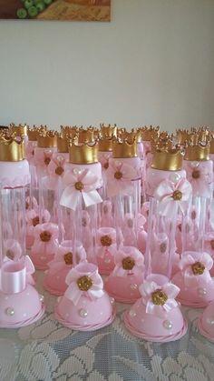 Tubetes princesa coroas Birthday Favors, Birthday Party Decorations, Birthday Parties, Princess Theme, Baby Shower Princess, Wedding Favors, Party Favors, Kylie Birthday, Ballerina Party