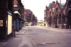 High St, Manchester, 1974 | From Smithfield Market end | Flickr