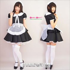 【楽天市場】アラニスメイド服:ぺプラムスカートをメイド服にしてみました【送料無料】キャンディフルーツのオリジナルメイド服です:メイド服のキャンディフルーツ