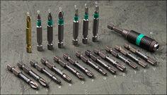 Wera BiTorsion® and Impaktor® Screwdriver Bits & Holder - Woodworking