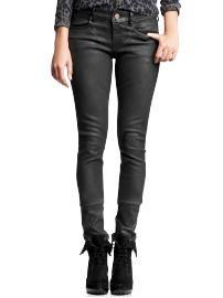 Always skinny jeans (black coated wash) $69.50