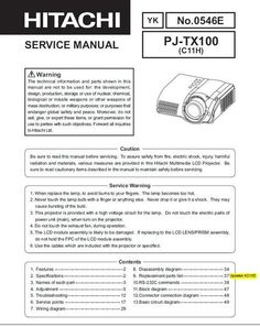 Original Service Manual for the Hitachi PJ-TX 100 Videoprojector in PDF format .  The original DOWNLOAD Global Safety, Procedural Writing, Electrical Wiring Diagram, Weapon Of Mass Destruction, Projectors, Repair Manuals, Pdf, The Originals, Windows Xp