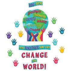 World Bulletin Board, Calendar Bulletin Boards, Summer Bulletin Boards, Classroom Bulletin Boards, Classroom Themes, Multicultural Classroom, Classroom Environment, Classroom Organization, We Are The World