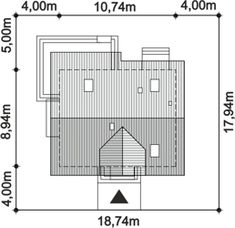 DOM.PL™ - Projekt domu ARP AMANT CE - DOM AP1-30 - gotowy koszt budowy Floor Plans, Floor Plan Drawing, House Floor Plans