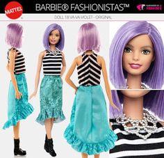 O mundo por dollsdoigor : Review Barbie Fashionista número 18