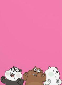 Bear Cute Panda Wallpaper, Funny Phone Wallpaper, Bear Wallpaper, Wallpaper App, Wallpaper Iphone Disney, Cute Disney Wallpaper, Kawaii Wallpaper, Cute Wallpaper Backgrounds, We Bare Bears Wallpapers