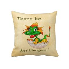 There Be Wee Dragons Nursery Childs DECOR