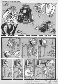 spy vs spy comics | Art: The magnificent Antonia Prohias' Spy Vs Spy…