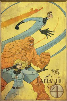 Fantastic-4 by TylerChampion on deviantART