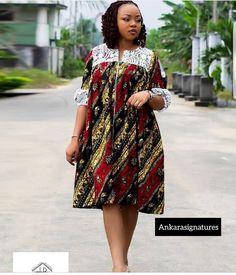 ankara styles - - Unique and trendy Ankara styles for ladies 2019 - photo Ankara Dresses Short African Dresses, Latest African Fashion Dresses, African Print Dresses, African Print Fashion, Ankara Fashion, Africa Fashion, African Prints, African Fabric, Short Dresses