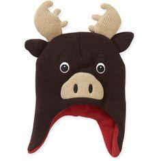 Baby Boys' Moose Critter Hat