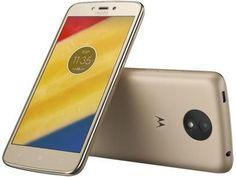 """Smartphone Motorola Moto C Plus 8GB Ouro - Dual Chip 4G Câm. 8MP Tela 5"""" HD Proc. Quad Core com as melhores condições você encontra no Magazine Mazak. Confira!"""