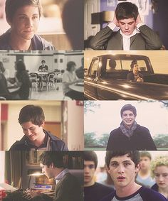 logan lerman as charlie in the perks of being a wallflower