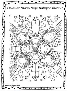 Drawing For Kids Ideas Coloring Books Ideas Coloring Book Pages, Coloring Sheets, Drawing For Kids, Art For Kids, Doodles, Digi Stamps, Coloring Pages For Kids, Kids Coloring, Art Plastique