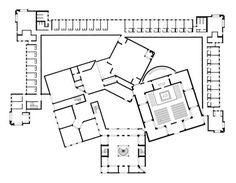 Louis Kahn, Dominican Motherhouse, Media, PA 1965-9 unbuilt