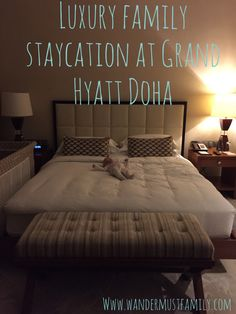 Luxury family staycation at grand Hyatt Doha Qatar Travel, Family Travel, Baby Travel, Grand Hyatt, Resort Villa, Traveling With Baby, Doha, Staycation, Hotel Reviews