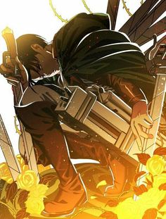 Levi Ackerman; Attack on Titan
