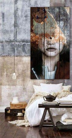 Een hele creatieve manier  om je slaapkamer in te richten.