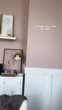 Wall Colors, House Colors, Bedroom Colors, Bedroom Decor, Paint Colors For Home, Pink Paint Colors, Interior Exterior, Interior Design, Big Girl Rooms