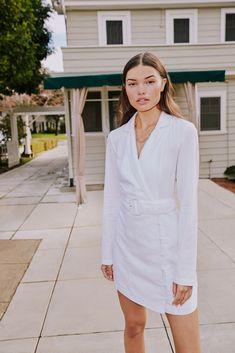 Blazer Dress, Shirt Dress, Party Dresses Online, Fashion Company, Workwear, Latest Fashion Trends, Knitwear, Women Wear, English