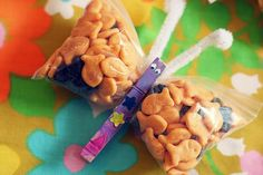 butterfly snack bags. perfect for party favor.