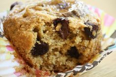 Millet Banana Chocolate Chip vegan muffins from Peas and Thank You website.