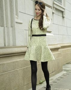 Check the details and price of this Light Yellow Crewneck Long Sleeve Floral Lace Mini Dress (Light Yellow, Irina Miro) and buy it online. VIPme.com offers high-quality A-Line Dresses at affordable price.