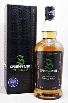 Springbank Single Malt Whisky 15 year old 46%, 70cl