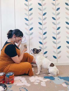 Wall Painting Decor, Mural Wall Art, Playroom Design, Wall Design, Sharpie Wall, Drawing Interior, Kids Room Paint, Room Decor, Wall Decor