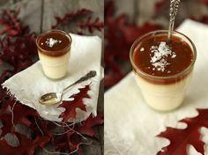 Vanilj pannacotta med smörkola och havssalt made by mary - En estetisk matblogg!