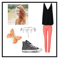 """""""Butterfly"""" by isabella-starr ❤ liked on Polyvore featuring beauty, Oui, STELLA McCARTNEY and Converse"""
