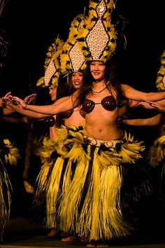 Hula- i totally used to wear a costume like that ;)
