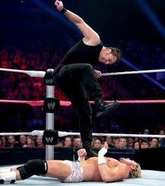 WWE Main Event 10/16/13 - Dean Ambrose vs Dolph Ziggler - United States Championship Match